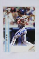 1999 Topps Autograph Andruw Jones On Card Auto #A12 Atlanta Braves