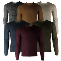 Terra Nova Men's Long Sleeve Honeycomb Stitch Crew Neck Sweater