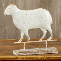 SHEEP/ RAM WEATHERVANE ON WOOD BASE