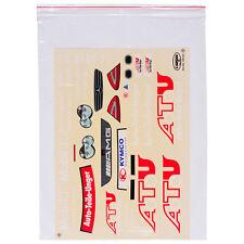 Decal Sheets 1:10 AMG Mercedes Benz C-Class ATU Carson 69191 800074