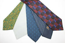 LOT OF 5 GUCCI  silk ties MADE IN ITALY. E93966