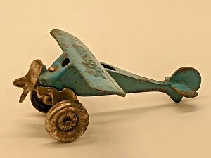 Vintage 1930's Arcade Cast Iron Monocoupe Aeroplane