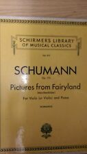 Schumann: Pictures From Fairyland: For Viola/Violin + Piano: Music Score