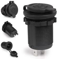 12V Truck Car Motorcycle Cigarette Lighter Socket Power Plug Outlet Waterproof