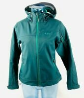 Outdoor Research Womens Jacket Teal Hooded Long Sleeve Side Pockets Zip Up S