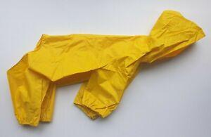 "12"" 30cm Dog Waterproof Lightweight Rain Coat Jumpsuit All in One Dog Jacket"