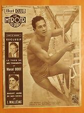 Miroir des Sports 419 du 3/8/1953-A.Eminente vainqueur de Jany -M.Bidot M.Jaune