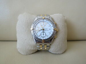 Breitling Chronomat D13048 Steel & 18K Gold 40mm Chronograph Automatic Watch