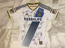 Steven Gerrard Signed Squad LA Galaxy Shirt Rare Inc COA Photo Proof