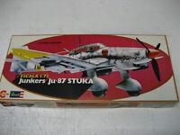 VINTAGE 1/72 JUNKERS JU87-D / G STUKA  MODEL KIT CONGOST - REVELL NEW BOXED 1979