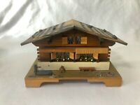Reuge Music Trinket Box Wood Cabin Going to Wash That Man Right Out of My Hair