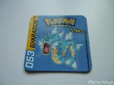 Magnet Staks Pokémon Advanced / 053 Gyarados / Panini 2003 [ Neuf ]