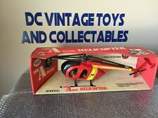 """Vintage 1983 ERTL Die Cast A-Team Helicopter 1/16 Scale In Box 3 3/4"""" 3.75 1/18"""