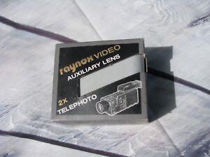NEW Raynox Auxiliary Lens 2x Telephoto TP-2000