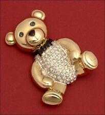 Brooch Carolee Teddy Bear Limited Edition 1993 BIG
