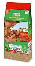 40l KATZENSTREU 100% PFLANZENFASERN Cat's Best Öko Plus Katzenstreu NEU