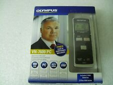 Olympus VN-7600PC Digital Voice Recorder 2GB MP3/WMA USB Includes Case Earphones