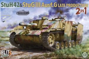 Takom 8006 1/35 StuH42 & StuG.III Ausf.G Late Production 2 in 1 Model Kit