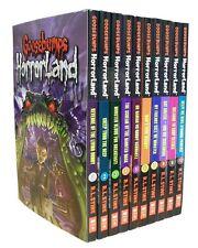Goosebumps HorrorLand Series 10 Box Set Collection Pack Children Books R L STINE