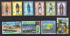 OMAN A USED SELECTION WITH HIGHER VALUES GOOD LOT  21 STAMPS