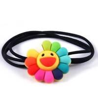 Fashion Women Girl Children Sun Flower Rubber Band Hair Ring Hair Accessories