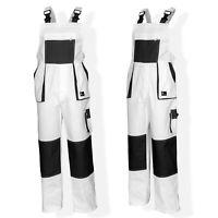Bib and Brace Overalls Painters Decorators Work Trousers Multi Pocket Painters