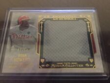 Ryan Howard 2015 Topps Museum Game Used Jersey Patch **7/10** Gold Parallel