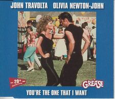 John Travolta & Olivia Newton-John You're The One That I Want CD single 1998