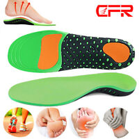 Orthotic Inserts Arch Support Insoles  Plantar Fasciitis Flat Feet Heel Spurs DS