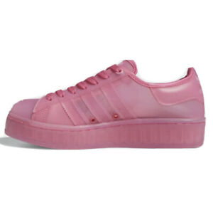 Adidas Original Superstar Jelly Shoes Solar Pink FX4322 Women's Size 5.5 NWT