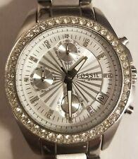 Fossil Decker ES2681P Wrist Watch.Women's. In excellent condition.Sunburst dial.