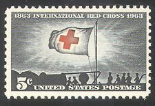 USA 1963 Red Cross/Medical/Health/Flag 1v (n29040)