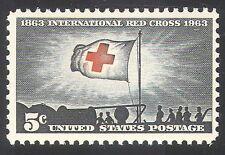 USA 1963 Red Cross/Medical/Health/Flag 1v (n29040)