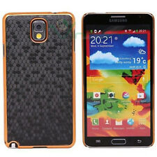 Custodia LUXURY Nero oro per Samsung Galaxy Note 3 N9005 rigida cover case