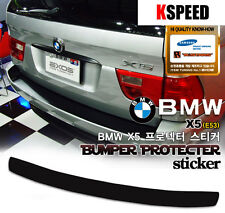 [Kspeed] (Fits: BMW X5 (E53)) Exos Rear Bumper Protector DECAL black