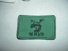 MILITARY PATCH LIZARD OR FROG GREEN 4 INCHES NAVY SEAL TEAM 4 BAD TO THE BONE