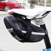 Bike Portable Bicycle Cycling Ourdoor Saddle Pouch Back Waterproof Seat Bag