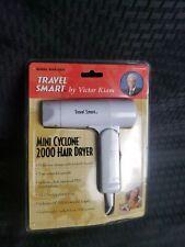 NEW Travel Smart Mini CYCLONE HAIR blow DRYER NIP FRANZUS CO.  Model WVK-5031