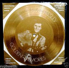 ELVIS PRESLEY-GOLDEN MEMORIES-IMPORT PICTURE DISC-ROCKABILLY-Young Dreams