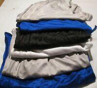 6 Men's Sport Basketball Short 100% Polyester 2 pocket 2XL 4 Color Elastic Waist