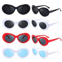 Fashion Women Men Kurt Cobain Mirrored Glasses Sunglasses Vintage NIRVANA Round