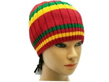 Red Beret Tam Hat Rasta Slouch Beanie Cap Dreadlocks Jamaica Dreads Winter Ski