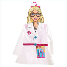 Barbie Sparkly DOCTOR COAT + Doctor Tools - Costume Dress Up Size 4-6x *NEW*