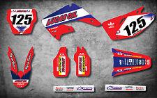 Honda CR 125 2002 - 2012 Full Custom Graphic Kit ACTIVE Style sticker kit decals