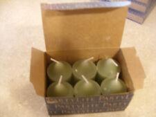 Partylite 1 Box Agave Nectar Votives Nib low ship
