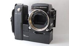 Bronica ETR Body Motor Winder 120 Film Back Waist Level Finder Set from Japan