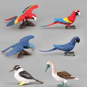 Artificial Wild Bird Model Figures Micro DIY Landscape Garden Ornaments DP