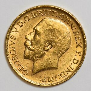 Great Britain 1911 Sovereign gold agw 0.2354oz gold GL0113 combine shipping