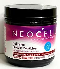 NeoCell Collagen Protein Peptides Pomegranate Acai Powder Supplement 15.1oz/428g