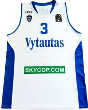 LiAngelo Ball BC Vytautas Official Jersey Men's White Basketball T-Shirt Top
